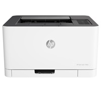 Принтер HP Color Laser 150nw Printer (4ZB95A) A4,600x600dpi, (18(4)ppm, 64Mb, USB 2.0/Wi-Fi/Eth10/100, AirPrint, HP Smart,1tray 150, 1y warr, cartridges 700b &500cmy pages in box