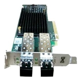 Контроллер DELL 403-BBLR Controller HBA FC Emulex LPe31002-M6-D Dual Port, 16Gb Fibre Channel, Low Profile