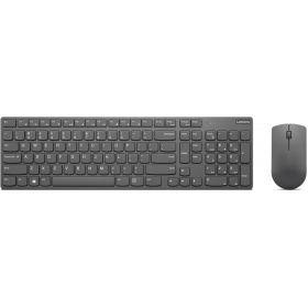 Комплект (клавиатура и мышь) Lenovo 4X30T25796 Professional Ultraslim Wireless Combo Keyboard and Mouse- Russian/Cyrillic ( 1 x 2.4 GHz nano USB receiver, 1 x micro USB charging cable, 2 x AAA batteries