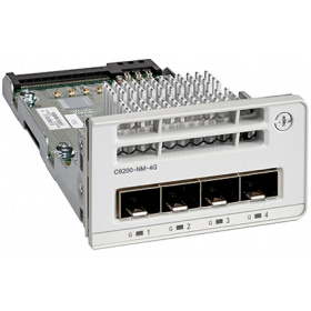 Модуль Cisco C9200-NM-4G= Catalyst 9200 4 x 1G Network Module