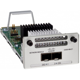 Модуль Cisco C9300-NM-2Y= Catalyst 9300 2 x 25GE Network Module, spare