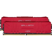 Модуль памяти Crucial BL2K16G26C16U4R 32GB Kit (16GBx2) DDR4 2666MT/s CL16 Unbuffered DIMM 288 pin Ballistix Red