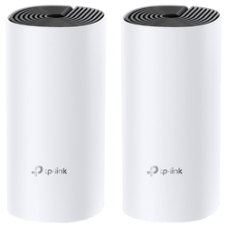 Точка доступа TP-Link Deco M4 (2-Pack) AC1200 Whole-Home Mesh Wi-Fi System,  867Mbps at 5GHz+300Mbps at 2.4GHz, 2 Gigabit Ports, 2 internal antennas