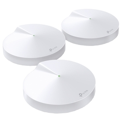 Точка доступа TP-Link Deco M5 (3-Pack) AC1300 Whole-Home Wi-Fi System, Qualcomm, Dual-Band, 802.11ac/a/b/g/n, Bluetooth 4.2, 2 Gigabit Ethernet Ports, 1 USB Type-C Port, 4 internal antennas