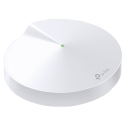 Точка доступа TP-Link Deco M5 (1-pack) AC1300 Whole-Home Wi-Fi Unit, Qualcomm, Dual-Band, 802.11ac/a/b/g/n, Bluetooth 4.2, 2 Gigabit Ethernet Ports, 1 USB Type-C Port, 4 internal antennas
