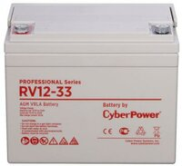 Батарея CyberPower Professional series RV12-33 / 12V 33 Ah