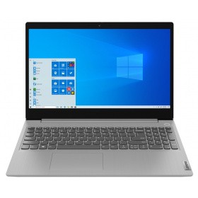 Ноутбук Lenovo IdeaPad L3 15IML05 (81Y3001KRK) 15.6'' FHD(1920x1080)/ Intel Celeron 5205U 1.90GHz Dual/ 4GB/ 500GB/Integrated/ WiFi/ BT5.0/0,3 MP/9,5 h/ 2,2 kg/ DOS/ 1Y/ PLATINUM GREY