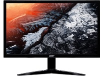 "Монитор 23,6"" ACER KG241QSbiip (UM.UX1EE.S01) (16:9)/TN+Film(LED)/ 1920x1080/ 144Hz (165Hz Overclock)/ 1ms (G2G), 0.5ms (min)ms/ 300nits/ 1000:1/ 2xHDMI(2.0)+DP(1.2)/ HDMI FreeSync/ Black with red stripes on footstand"
