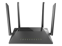 Маршрутизатор D-Link DIR-825/RU/R1B 802.11n DualBand Wireless Gigabit Router, with 4-ports 10/100/1000 Base-TX маршрутизатор AC1200 с USB-портом