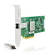 HBA-адаптер HP StorageWorks FCA 81Q 8Gb FC Host Bus Adapter PCI-E for Windows, Linux (LC connector), incl. h/h & f/h. brckts