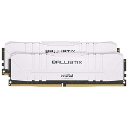 Модуль памяти Crucial BL2K32G32C16U4W 64GB Kit (32GBx2) DDR4 3200MT/s CL16 Unbuffered DIMM 288 pin Ballistix White