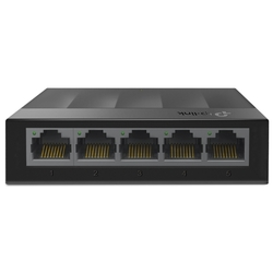 Коммутатор TP-Link LS1005G 5 ports Giga Unmanaged switch, 5 10/100/1000Mbps RJ-45 ports, plastic shell, desktop and wall mountable