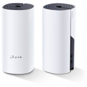 Точка доступа TP-Link Deco P9 (2-Pack) AC1200 Home Mesh Wi-Fi system with AV1000 Powerline, 867 Mbps at 5 GHz + 300 Mbps at 2.4 GHz, 2 gigabit ports