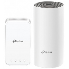 Точка доступа TP-Link Deco E3 (2-pack) AC1200 Whole-Home Mesh Wi-Fi System, 867Mbps at 5GHz+300Mbps at 2.4GHz, 2 10/100Mbps Ports, 2 internal antennas, MU-MIMO