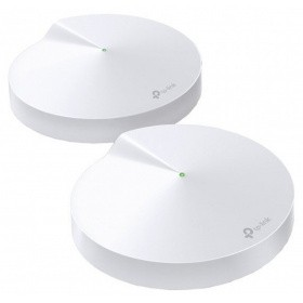Точка доступа TP-Link Deco M5 (2-Pack) AC1300 Wi-Fi System802.11ac/a/b/g/n, 717MHz Quad-core CPU, 2 Gb Ethernet Ports, 4 internal antennas