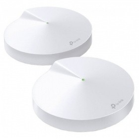 Точка доступа TP-Link Deco M9 Plus (2-Pack) AC2200 Tri-Band Smart Home Mesh Wi-Fi System, IoT Hub