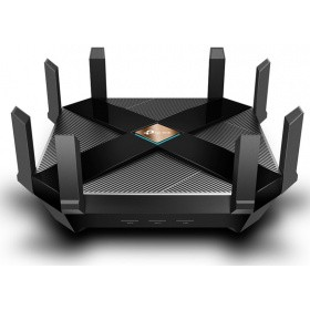 Маршрутизатор TP-Link Archer AX6000 Dual Band Wireless Gigabit Router, 4804 Mbps (5 GHz) and 1148 Mbps (2.4 GHz), 2.5Gbps WAN port, 1 type A USB 3.0 and 1 Type C USB 3.0