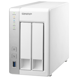Сетевое хранилище без дисков QNAP TS-231K NAS 2 HDD trays. Alpine AL214, 4-core, 1.7GHz, 1 GB RAM, 2xGB Ethernet, USB 3.2x3
