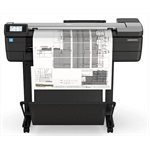 "Плоттер HP DesignJetT830 MFP (F9A28D) (p/s/c, 24"", 4color, 2400x1200dpi, 1Gb,26spp (A1 drawingmode), USB/GigEth/Wi-Fi, stand, mediabin,rollf eed, sheetfeed, tray50(A3/A4), autocutter, Scanner60 0dpi,24x109"""", 1ywarr)"