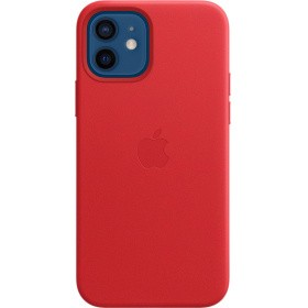 Чехол Apple iPhone 12 | 12 Pro Leather Case with MagSafe (MHKD3ZE/A) - (PRODUCT)RED