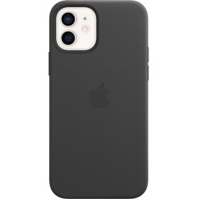 Чехол Apple iPhone 12 | 12 Pro Leather Case with MagSafe (MHKG3ZE/A) - Black