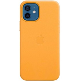 Чехол Apple iPhone 12 | 12 Pro Leather Case with MagSafe (MHKC3ZE/A) - California Poppy