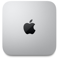 ПК Apple Mac mini (MGNR3RU/A): Apple M1 chip with 8core CPU & 8core GPU, 16core Neural Engine, 8GB, 256GB SSD, WiFi 6, 1 Gb Ethernet, Space Gray